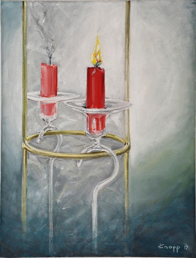 Rote-Kerze